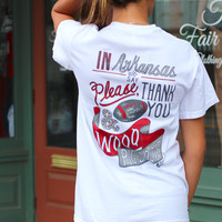 LivyLu: We Say Woo Pig Sooie Tee {White}