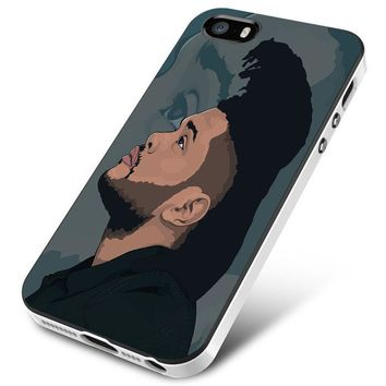 The Weeknd (pop art large) iPhone 5 | 5S | 5SE Case Planetscase.com