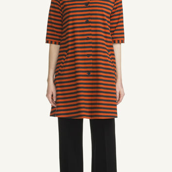 KASTE MARIMEKKO DRESS MELANGE GREY/ORANGE