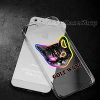 Golf Wang On Cosmic for iphone 4 case, iphone 5 case, samsung s3 case, samsung s4 case cover in clearcaseshop