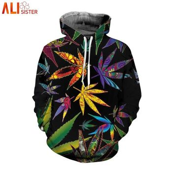 3d Hip Hop Weed Leaf 3d Printed Hoodies Women Men Street Clothing Fashion Hooded Sweatsuits Tops Mens Streetwear Hoody