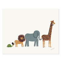 Rifle Paper Co. - Animal Parade Print