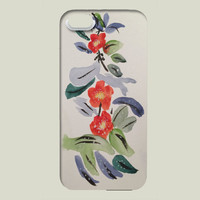 Oriental Flowers iPhone case by charissecolbert on BoomBoomPrints