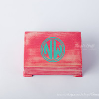 Custom wood boxes personalized bridesmaids gift monogrammed boxes initial wood boxes letter boxes typographic custom box personalized boxes