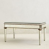 Mirrored Coffee Table by Anthropologie Clear One Size Wall Decor