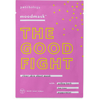 "Online Only moodmask ""The Good Fight"" Clear Skin Sheet Mask"
