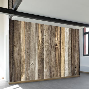 Barn Wood Wall Mural
