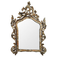 One Kings Lane - Silver Leaf Mirror