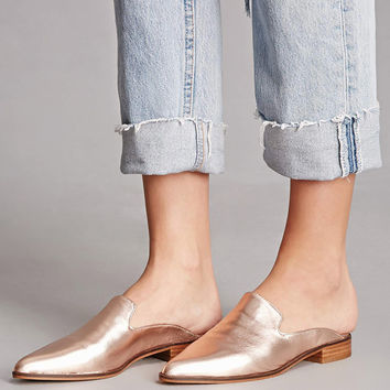 Shellys London Metallic Mules
