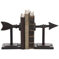 2-Pc. Metal Arrow Bookend Set - Home Decor - For The Home - Macy's