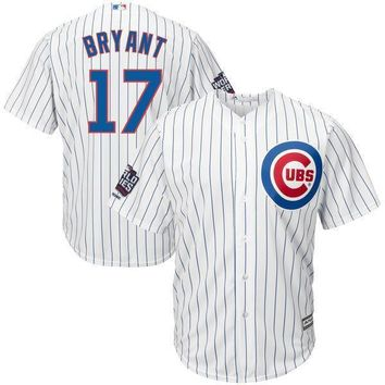 Men's Chicago Cubs Kris Bryant Majestic Royal Alternate 2016 World Series Champions Cool Base Player Jersey