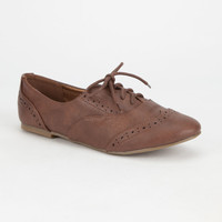 CITY CLASSIFIED Zoya Womens Wingtip Oxford Shoes | Casuals