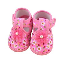 Baby Girls Flower Pattern Shoes Various Sizes