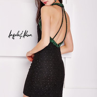 Angela & Alison 52014 Beaded Cocktail Dress Homecoming Short Prom $375