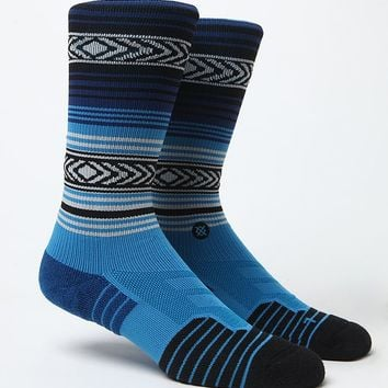Stance Fusion Athletic The OG Crew Sock - Mens Socks - Blue - One
