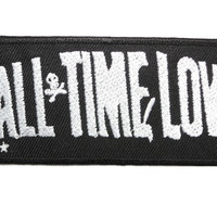 "ALL TIME LOW Iron On Sew On Embroidered Patch 3.5""/9cm"