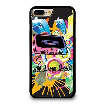 ALL TIME LOW RETRO CASSETE iPhone 4/4S 5/5S/SE 5C 6/6S 7 8 Plus X Case