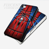 Spider Man Logo Super Hero case for iPhone 4 Blackcase for iPhone 4/4S/5 iPod 4/5 Galaxy S2/S3/S4/Note HTC Blackberry