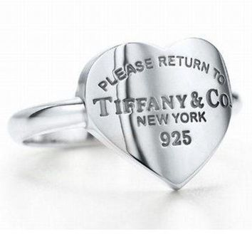 Tiffany & Co New Fashion Woman Accessories Fine Jewelry Personality Ring