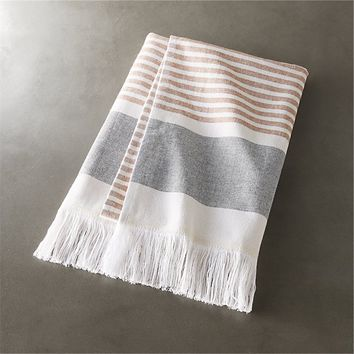 karla copper hand towel