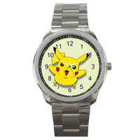 Pikachu Pokemon New Edition Sport Watches