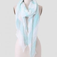 Ocean Breeze Stripe Scarf