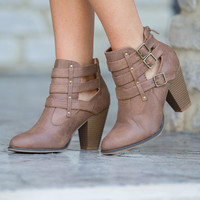 The Bethany Booties Brown