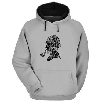sherlock holmes Hoodie Sweatshirt Sweater Shirt Gray and beauty variant color for Unisex size