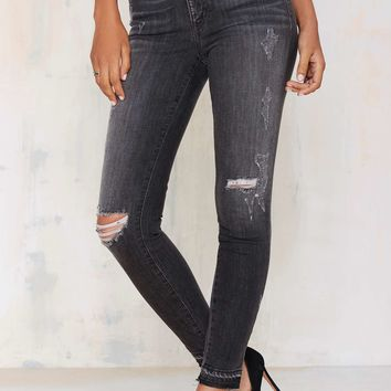 Nasty Gal Denim - The Revolver Mid-Rise