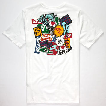 NIKE SB Sticker Mens T-Shirt | Graphic Tees