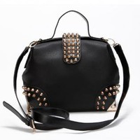 Small Studded Hang Bag