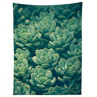 Olivia St Claire Succulents Tapestry