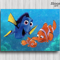 finding nemo print disney decor nemo decorations finding dory favors