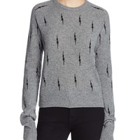EquipmentRyder Lightning Bolt Cashmere Sweater