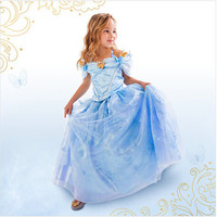 2015 New baby girls Cinderella Dress Cosplay Costume Party Dress Princess Dress Cinderella Costume Alternative Measures - Brides & Bridesmaids - Wedding, Bridal, Prom, Formal Gown
