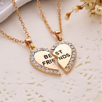 Trendy Best Friend Letter Necklace *GREAT GIFT*