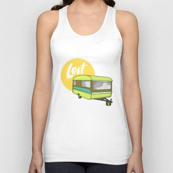 Caravan Lost Unisex Tank Top by mailboxdisco