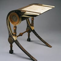 Carlo Bugatti: Desk (1970.181.3) | Heilbrunn Timeline of Art History | The Metropolitan Museum of Art
