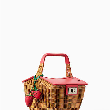 picnic perfect 3D wicker picnic basket | Kate Spade New York