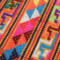 Multi colored vintage Guatemalan handwoven by SandrasCornerStore