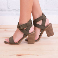 Free Spirit Strappy Low Heel