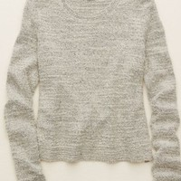 Aerie Women's Pullover Sweater (Medium Heather Grey)