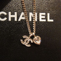 Chanel Charm + Necklace