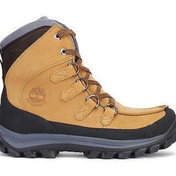 Timberland Mens EK Chillberg Premium Boots WP Insulated Wheat 9701R
