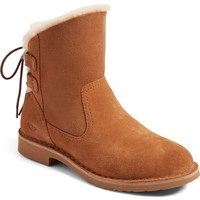 UGG® Naiyah Lace-Back Genuine Shearling Boot (Women) | Nordstrom