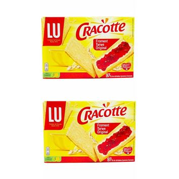 LU Cracotte Wheat Slices 8.8 oz. (250g) (PACK of 2)