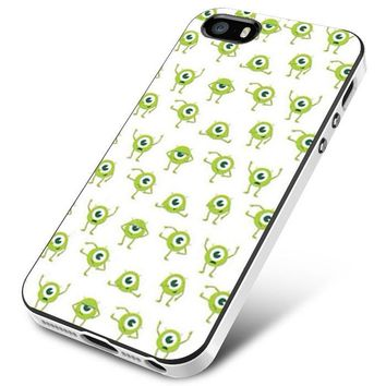 Mike Wallpaper Monsters Inc iPhone 5 | 5S | 5SE Case Planetscase.com