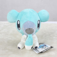 "Cubchoo / Kumasyun Pokemon Black & White Plush Toy 6"" Bear New/wtag kids doll toys Stuffed Animals & Plush"