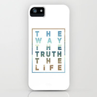 The Way; The Truth; The Life iPhone & iPod Case by Pocket Fuel