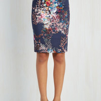 50s Mid-length Pencil Brilliant Blogger Skirt